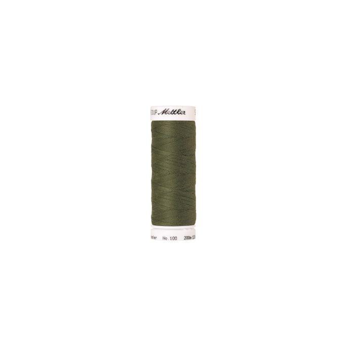 Fil polyester Mettler 200m Couleur n°1210 Mousse de mer
