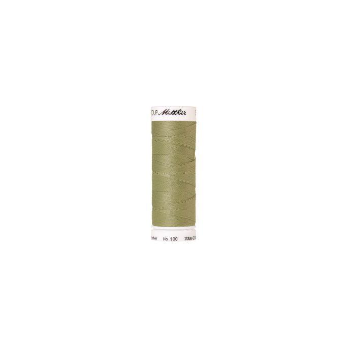 Fil polyester Mettler 200m Couleur n°1212 Raisin Vert