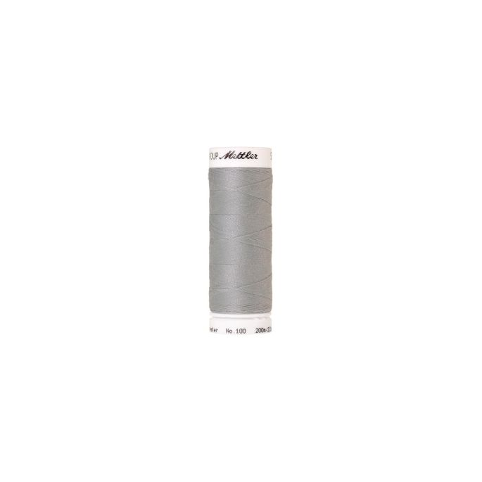 Mettler Polyester Sewing Thread (200m) Color 1340 Silvery Grey