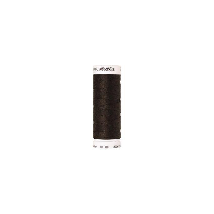 Fil polyester Mettler 200m Couleur n°1382 Poivre Noir
