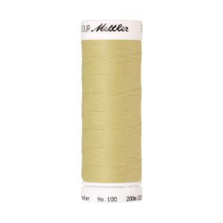 Mettler Polyester Sewing Thread (200m) Color #1412 Lemon Frost