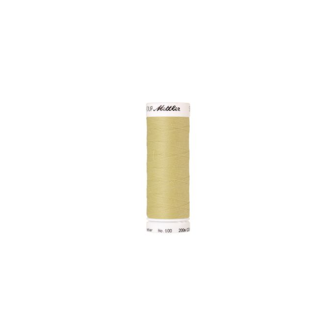 Mettler Polyester Sewing Thread (200m) Color 1412 Lemon Frost