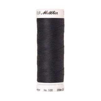 Fil polyester Mettler 200m Couleur n°1452 Etain Foncé
