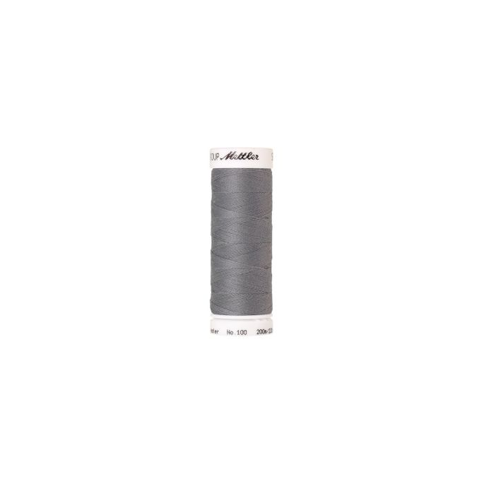 Mettler Polyester Sewing Thread (200m) Color 3501 Summer Grey