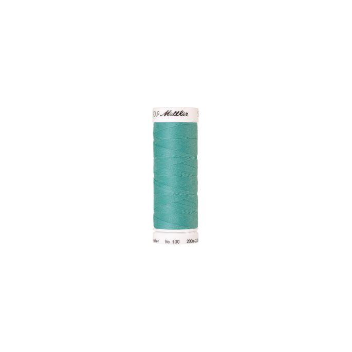 Fil polyester Mettler 200m Couleur n°3503 Jade Bleu