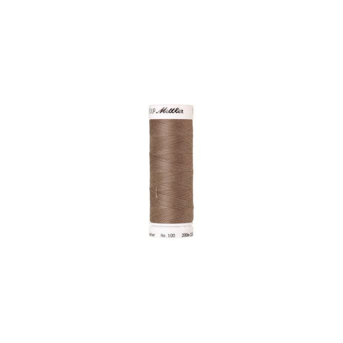 Fil polyester Mettler 200m Couleur n°0475 Riz Sauvage