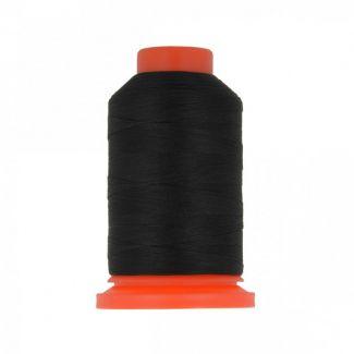 Polyester Overlock Thread (1000m) Black