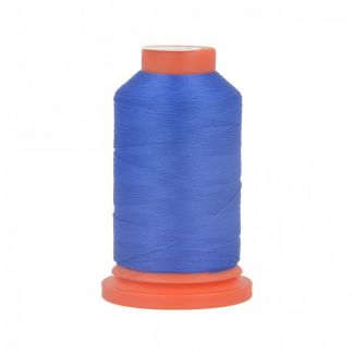 Fil Mousse Polyester (1000m) Bleu Royal