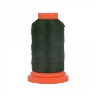 Fil Mousse Polyester (1000m) Vert Bouteille