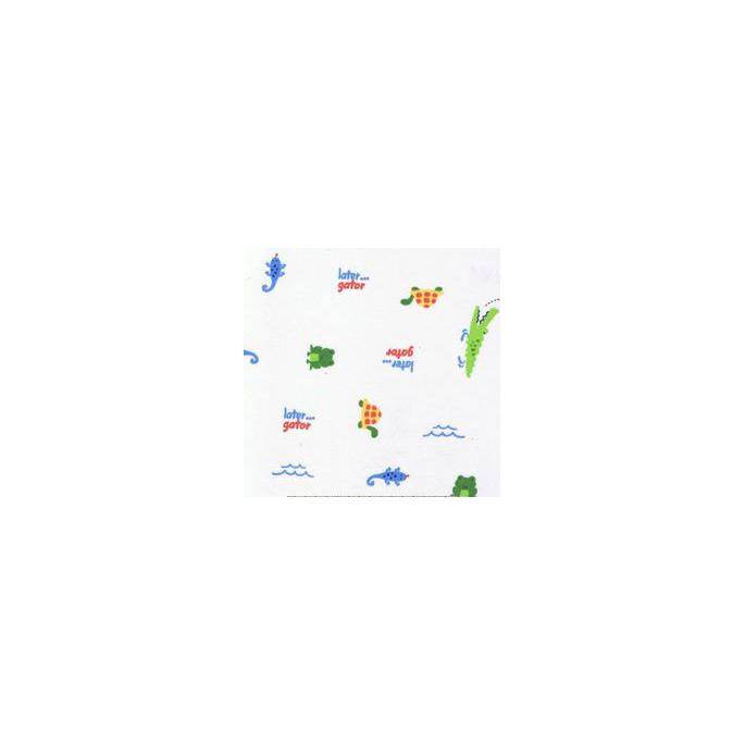 PUL poly imprimé Aligator (10cm)