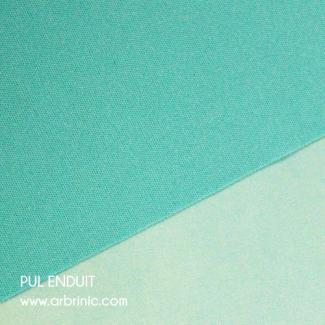 PUL enduit turquoise