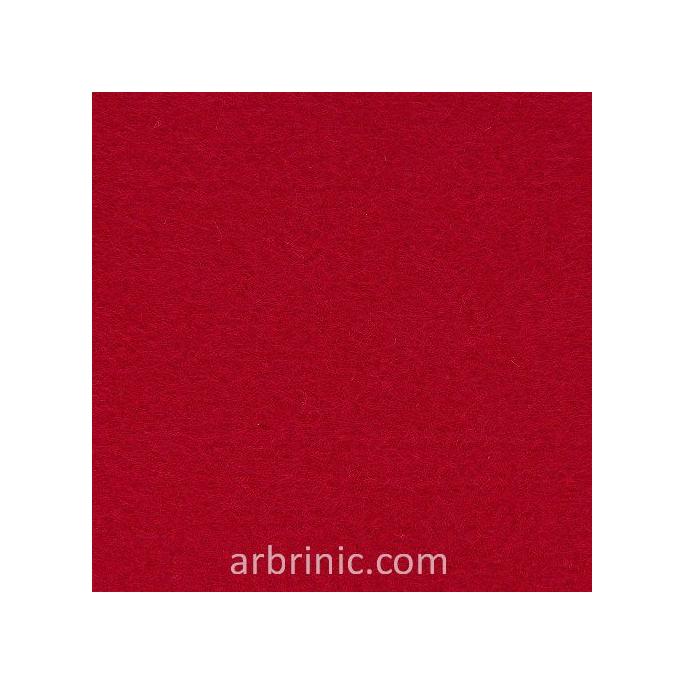 Feutrine Feuille A4 Rouge Foncé