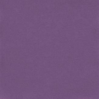 Organic cotton interlock Dusty Lavender