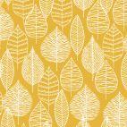 Laminated Organic Cotton Line Leaf Cloud9
