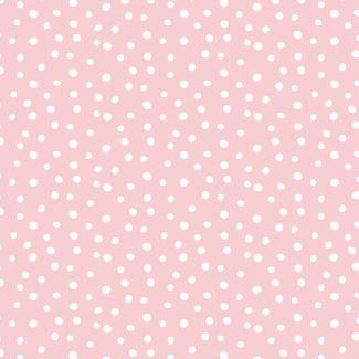 Flanelle coton bio Confetti Pink Cloud9