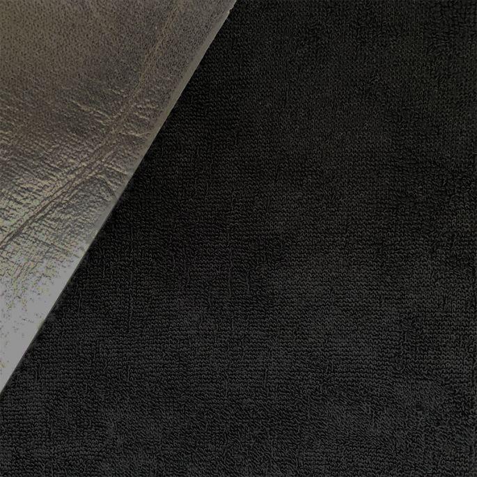 Micro-éponge de bambou imperméable PUL Noire Oekotex