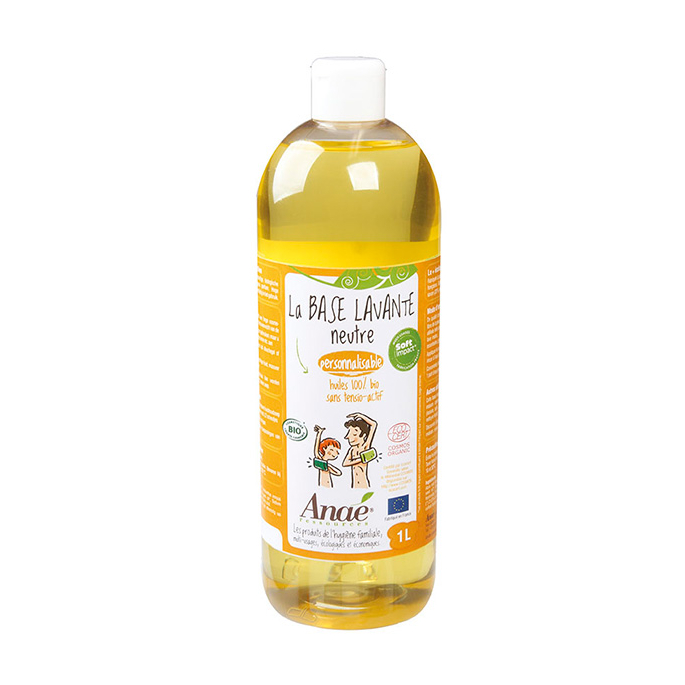 Organic Cleansing Base plant based Anae (1l)