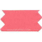 Satin Ribbon double face 11mm Candy Pink (by meter)