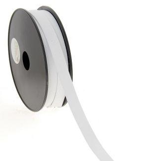 Woven Elastic White 15mm (25m roll)