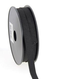 Elastique Maille 15mm Noir (bobine 25m)