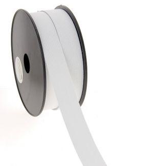 Elastique Maille 25mm Blanc (bobine 25m)