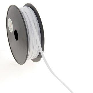 Woven Elastic White 5mm (50m roll)