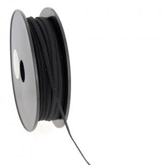 Elastique Bracelet 5mm Noir (au mètre)