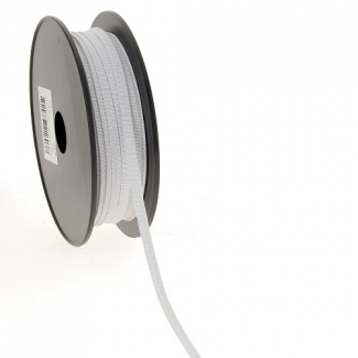 Soft Stretch Elastic White 5mm (50m roll)