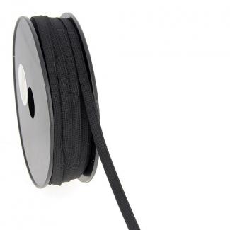 Soft Stretch Elastic Black 7mm (by meter)