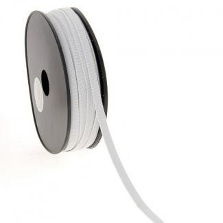 Soft Stretch Elastic White 7mm (50m roll)