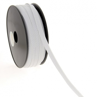 Soft Stretch Elastic White 9mm (by meter)