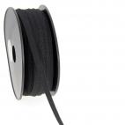 Soft Stretch Elastic Black 9mm (by meter)