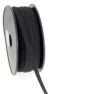 Elastique Bracelet 9mm Noir (au mètre)