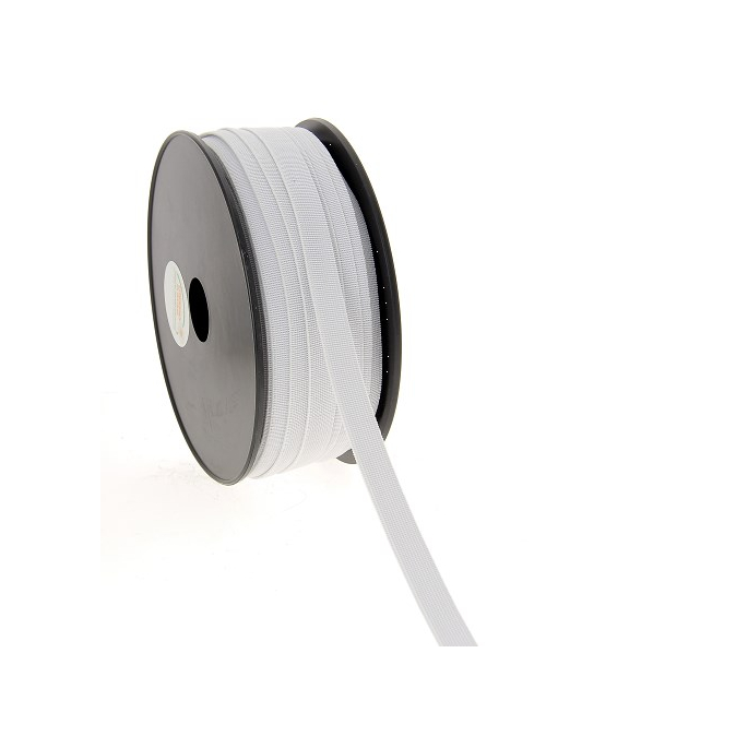 Soft Stretch Elastic White 11mm (by meter)