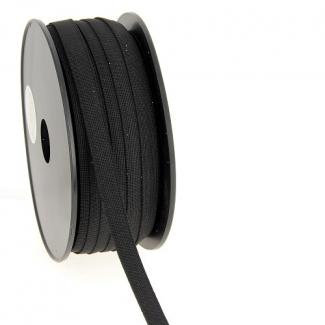 Elastique Bracelet 11mm Noir (au mètre)