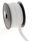 Soft Stretch Elastic White 15mm (by meter)