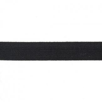 Soft Stretch Elastic Black 15mm (by meter)