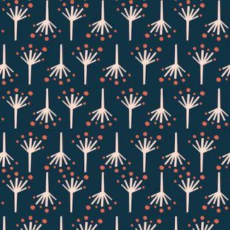 Organic cotton print Modern Love Firecracker Monaluna