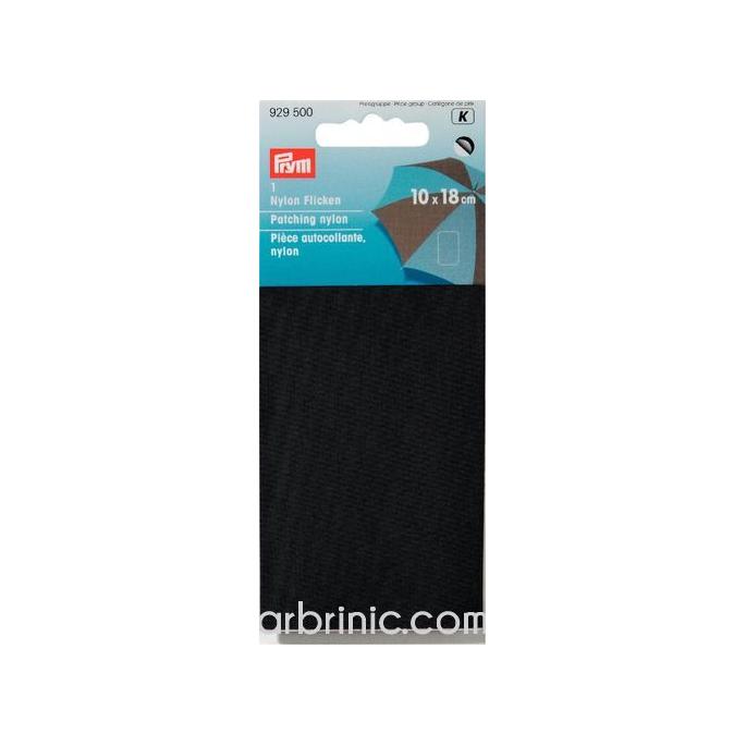 Pièce autocollante PRYM Nylon Noir (10x18cm)