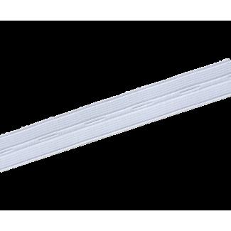 Elastique Boutonnière Blanc 20mm (au mètre)
