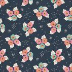 Organic cotton Popeline Tropical Garden Monsoon Blossom Cloud9