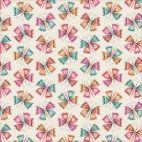 Organic cotton Popeline Tropical Garden Flutter Cloud9