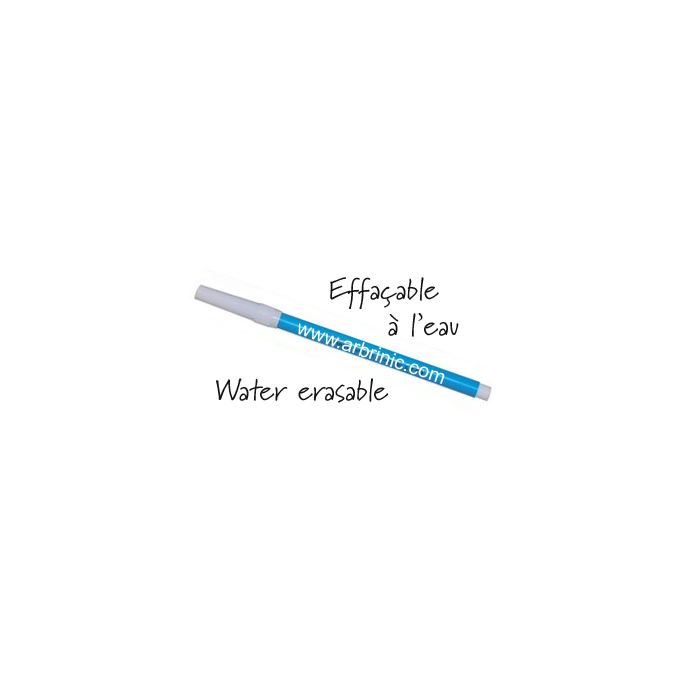 10 (+4 for free) Water erasable Pen - blue ink (12 pieces)