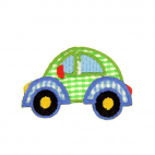 Iron-on Embroidery Patch Car squares