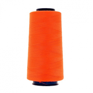 Cône fil polyester Orange Fluo (2743m)