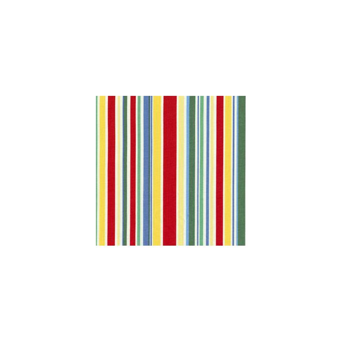 Coton imprimé Rayures plage Michael Miller (par 10cm)