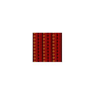 Coton imprimé Bandana rayé Michael Miller (par 10cm)