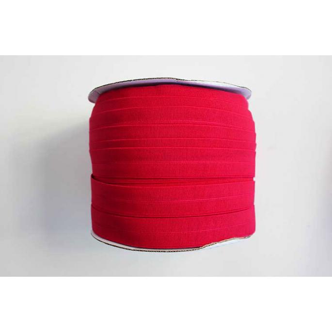 Biais élastique 2.5cm Rouge (1m)