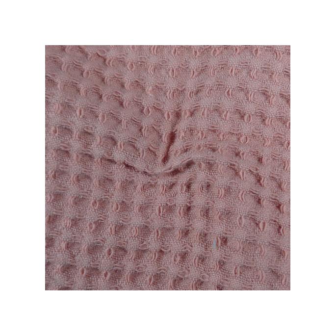 Cotton birdseye Oekotex - noisette color width 150cm (per meter