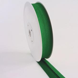 Biais 30mm Vert Foret (au mètre)